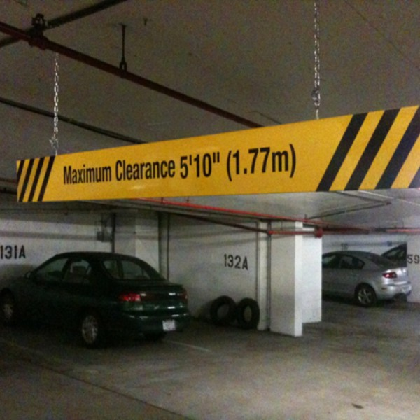 Heavy Duty Max Height Sign 48 X 8 75 171 Bc Site Service