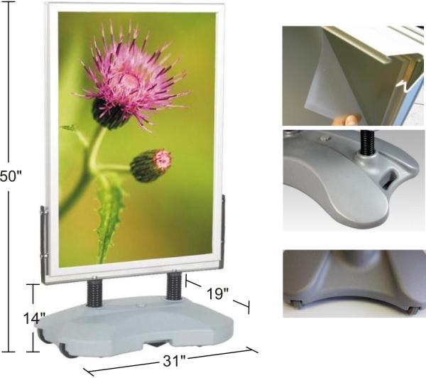 frame 24 x 34 visual size 23 x 33