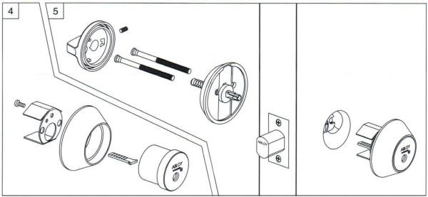 Deadbolt Installation Instructions - 3 of 6