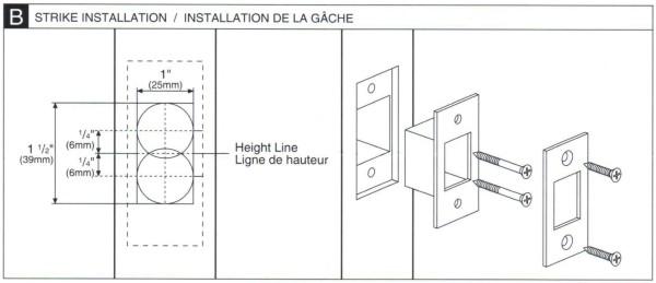 Deadbolt Installation Instructions - 4 of 6