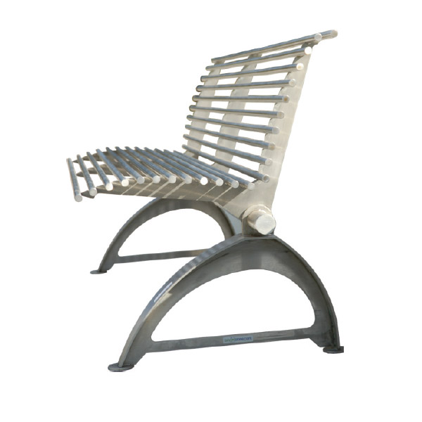 Stainless Steel Park Bench 171 Bc Site Service