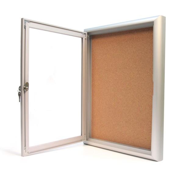 Indoor Locking Bulletin Board Cabinets 171 Bc Site Service