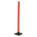 Red Flexible Bollard