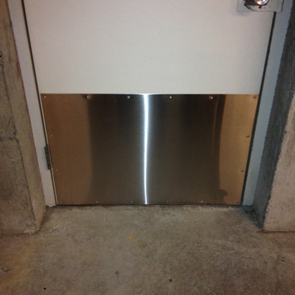 Stainless Steel Door Kick Plate Bc Site Service