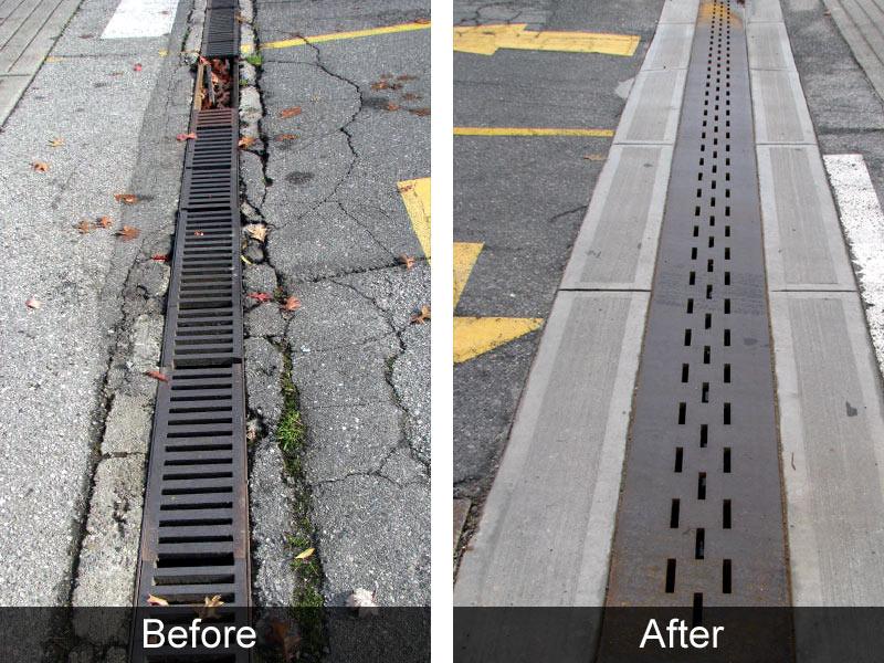 Concrete Driveway Drains