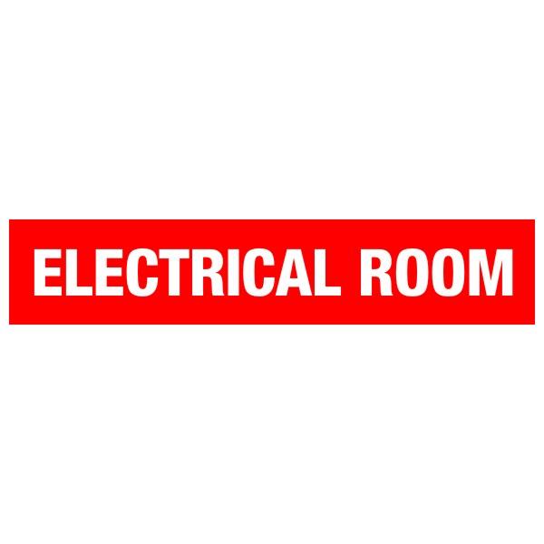 Electrical Room Door Sign 20″ X 4″ « Bc Site Service