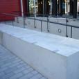 Retaining Wall Anti Skateboard Guards