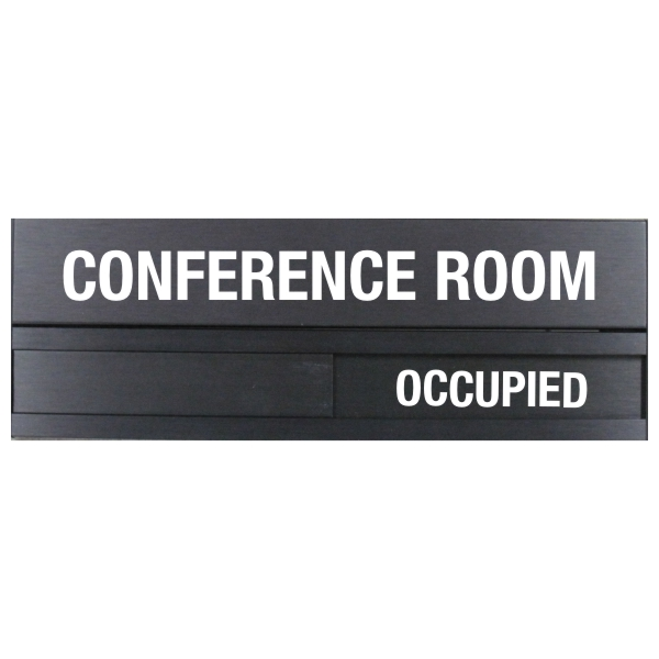 Conference Room Slider Plate Door Sign 3 5 X 10 Bc