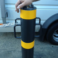 Removable Bollard Installed