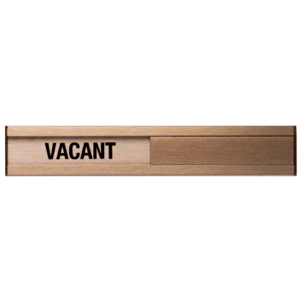 Vacant occupied slider plate door sign 1 3 4 x 10 bc for Bathroom occupied sign