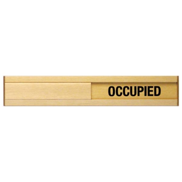 in a meeting sign for door