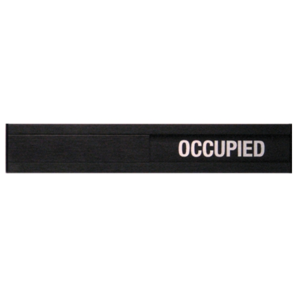 Vacant Occupied Slider Plate Door Sign 1 3 4 X 10 Bc