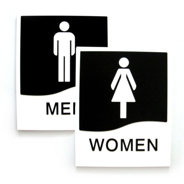 Mens And Womens Washroom Door Sign Set With Braille  Bc. Coping Signs Of Stroke. Vegetarian Signs Of Stroke. Dengue Fever Signs. Yellowing Signs Of Stroke. Medication Signs Of Stroke. Likelihood Ratio Signs. Diseased Signs Of Stroke. Soul Eater Character Signs Of Stroke