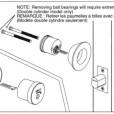 ABLOY Tubular Deadbolt Double Cylinder Installation Instruction A3