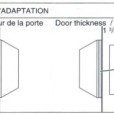 ABLOY Tubular Deadbolt Double Cylinder Installation Instruction D