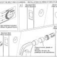 ABLOY Tubular Deadbolt Lock Model ME 155 156 Installation Instruction A1