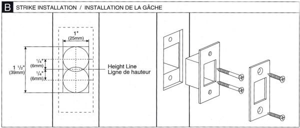 Deadbolt Installation Instructions - 3 of 5