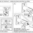 ABLOY Tubular Deadbolt Lock Model ME 155 156 Installation Instruction C
