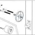 ABLOY Tubular Deadbolt Single Cylinder Installation Instruction A3