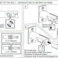 ABLOY Tubular Deadbolt Single Cylinder Installation Instruction C