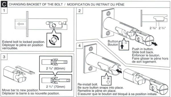 Deadbolt Installation Instructions - 5 of 6