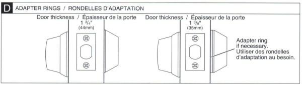 Deadbolt Installation Instructions - 6 of 6
