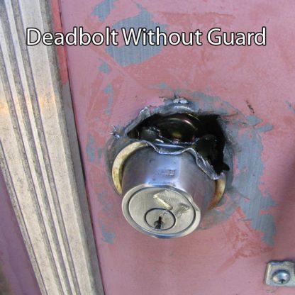 Deabolt without guard