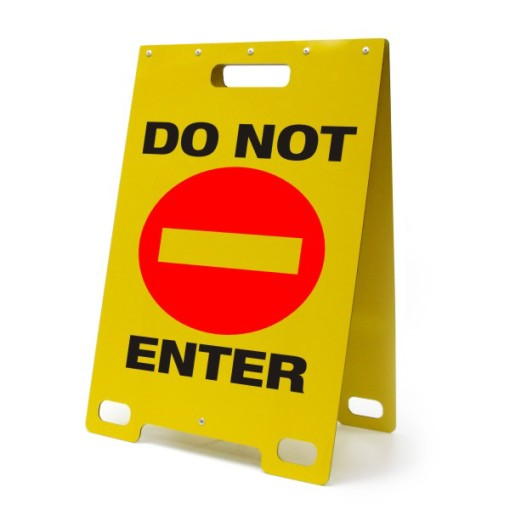 Do Not Enter Yellow