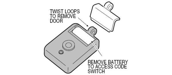 Linear Delta-3 Series MiniT Coding Switch Location