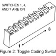 Linear Delta-3 Series MiniT Toggle Coding Switch
