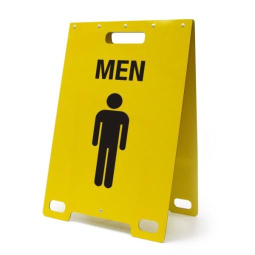 Men Washroom Yellow