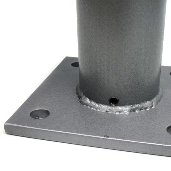 Standard 2 3 8 Bolt Down Sign Post Base Bc Site Service