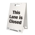This Lane is Closed White