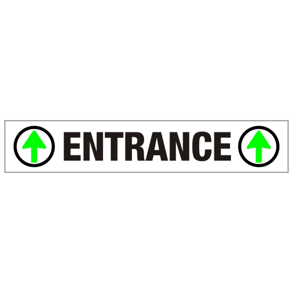 Parkade Entrance Sign 48 X 8 Bc Site Service