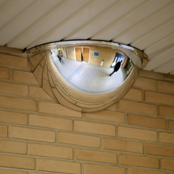 180 Degree Convex Dome Safety Mirror Bc Site Service