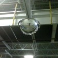 360 Degree Safety Mirror Installed in Warehouse