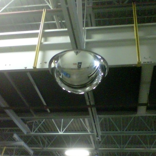 360 Degree Convex Dome Safety Mirror Bc Site Service