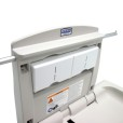 Baby Change Station With Bed Liner Pocket Closed