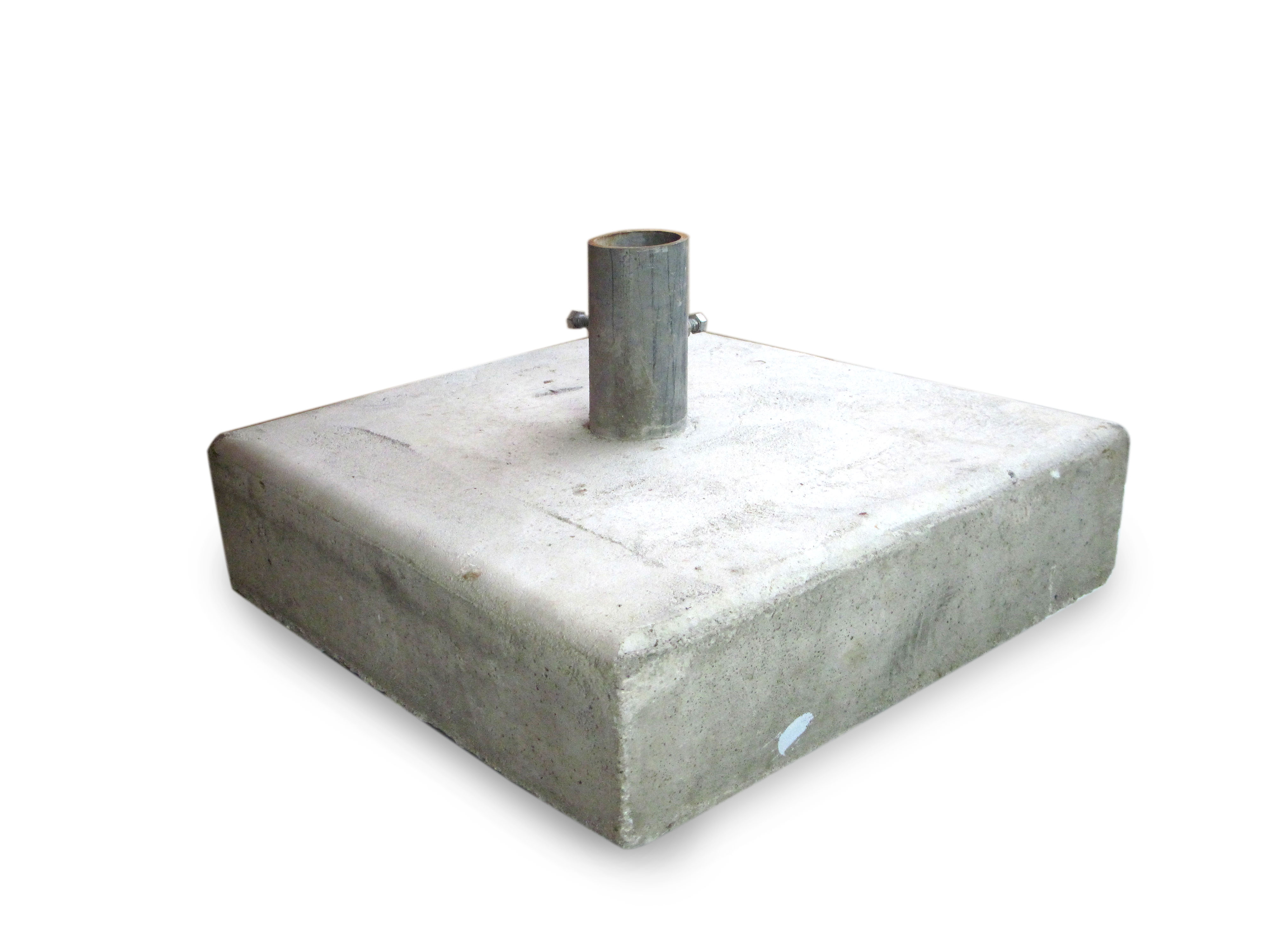 20� x 20� concrete sign post base � bc site service