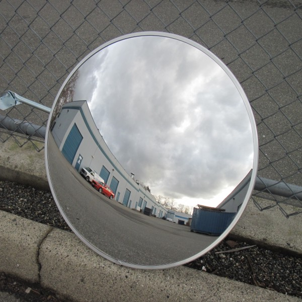 Metal Back Outdoor Traffic Mirror Bc Site Service