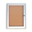 Indoor Locking Bulletin Board Cabinets