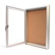 Indoor Locking Bulletin Board Cabinets Inside
