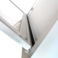 Outdoor Locking Bulletin Board Cabinets Hinge
