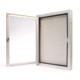 Outdoor Locking Bulletin Board Cabinets Inside
