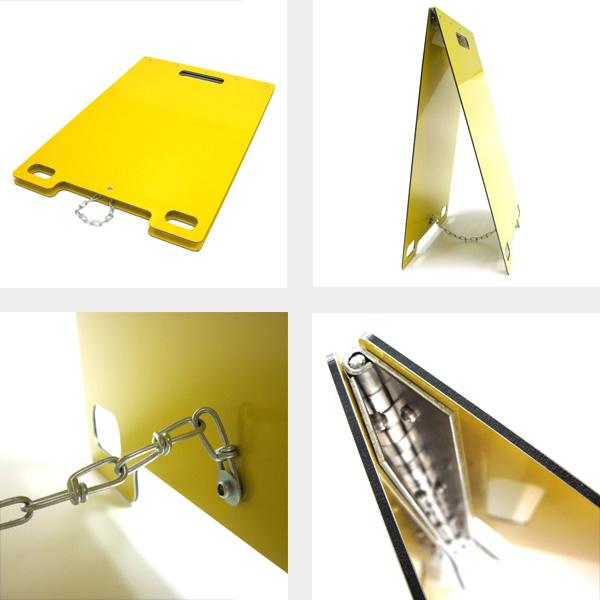 Portable Sandwich Boards Detail