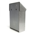 Stainless Steel Sanitary Napkins Receptacle Back