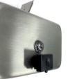 Stainless Steel Soap Dispenser Close Shot