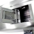 Stainless Steel Soap Dispenser Open