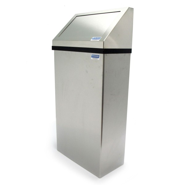Wall Mounted Trash Bin With Handle For Easy Carrying Can Also Be Placed On The Floor I Kind Of Want These Everywhere