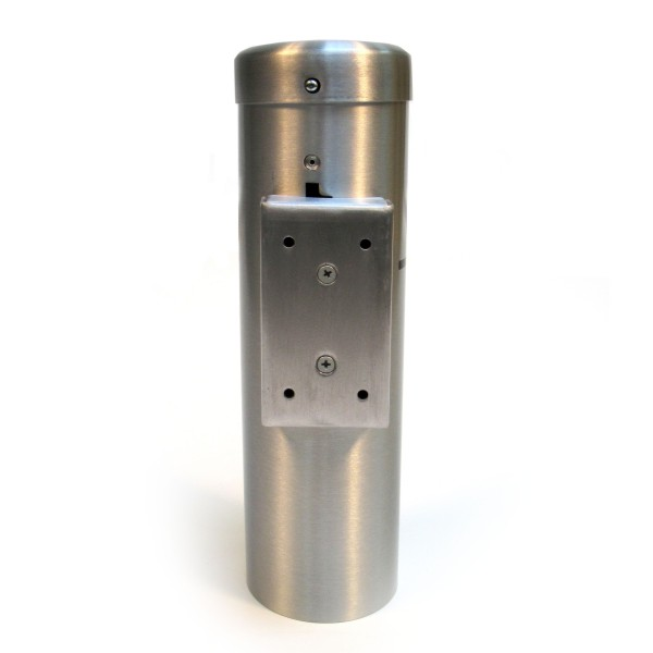 Wall Mounted Cylinder Cigarette Receptacle Bc Site Service
